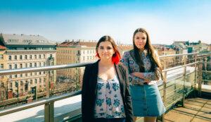 Gemeinsames Foto von Gabi und Naima